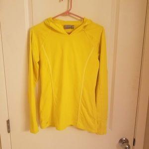 Athleta XS Yellow Athletic Hoodie